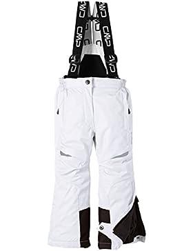 CMP Ski - Mono de esquí para niña, color blanco, talla 152 cm