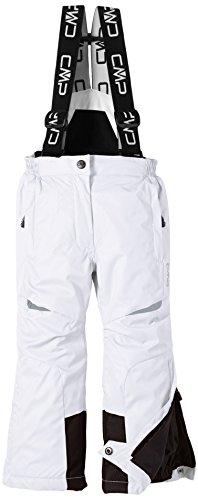 CMP Mädchen Skihose, Bianco (weiß), 116, 3W01805
