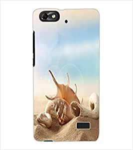 ColourCraft Lovely Flower and Water drops Design Back Case Cover for HUAWEI HONOR 4C