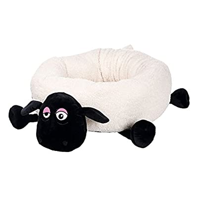 Trixie Shaun the Sheep Shirley cama, 50 cm), color crema