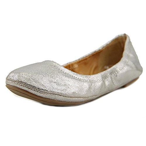 lucky-brand-emmie-donna-us-8-argento-larga-ballerine