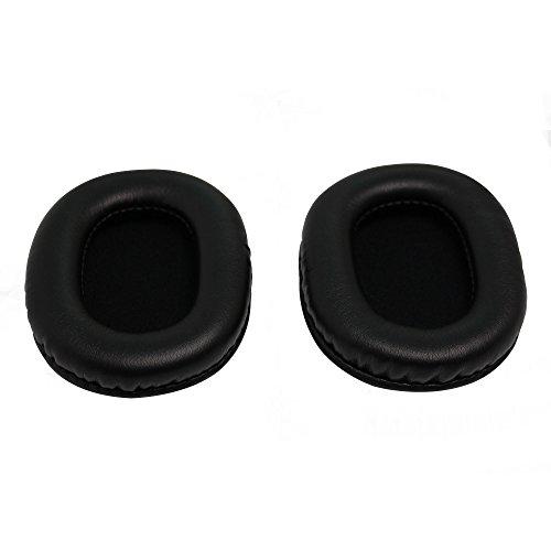 Shinecozy Premium Kopfhörer Eiweiß Leder Schaumstoff Ohr Polster, Headset Ohr Pads Ersatz Austausch Reparatur Teile(Für Audio-technica ATH-M50)