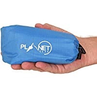 Planet Gear Waterproof Pocket Blanket | Lightweight Outdoor Hiking Picnic Garden Beach Travel Compact Mat Footprint