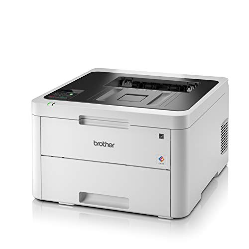 Brother HL-3150CDW - Impresora láser color (WiFi, LED, con red cableada, impresión automática a doble cara)