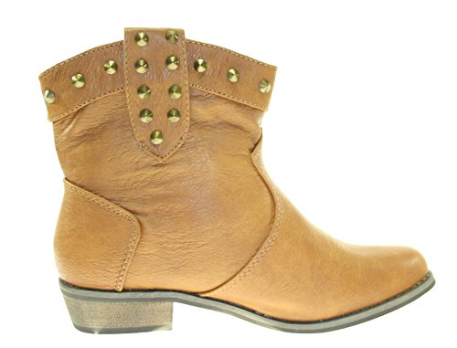 Boots Damenschuhe Farbe Camel Camel