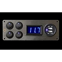 Renault Master camper 4x Interruttori voltmetro 2.1A USB