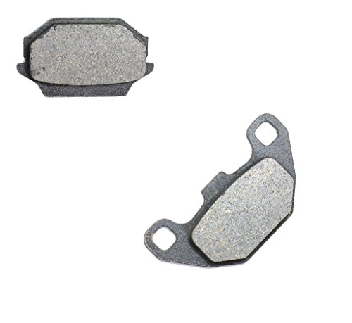 trasero Pastillas de freno de disco Semi Met for KYMCO ATV MXER150 MXER 150 03 04 05 06 07 08 09 10 11 12 13 14 15 2003 2004 2005 2006 2007 2008 2009 2010 2011 2012 2013 2014 2015 1 Pair(2 Pads)