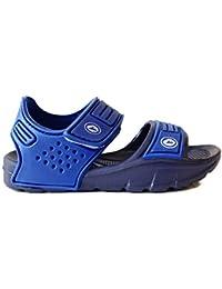 Sandalia Velcro Azul J'HAYBER