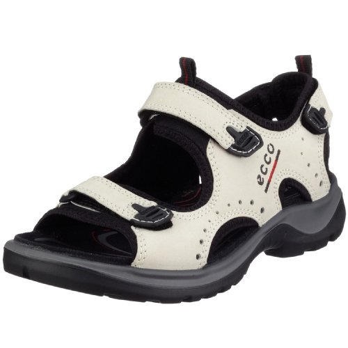 Ecco Offroad, Damen Sport- & Outdoor Sandalen, Weiß (Ice White Nubuck00217), 40 EU