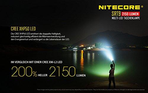 Nitecore SRT9 Taktische Taschenlampe - 3
