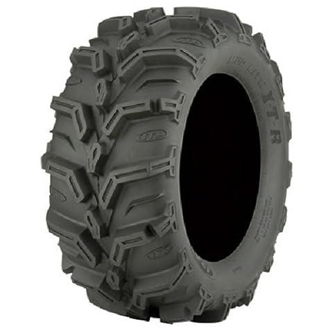 Pair of ITP Mud Lite XTR (6ply) ATV Tire 25x8-12 (2) by Powersports Bundle