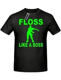 TEEZ - Floss Like a boss t Shirt, Children's Gaming t Shirt, Men's Gaming t Shirt. Sizes. 5yrs - 2xlarge