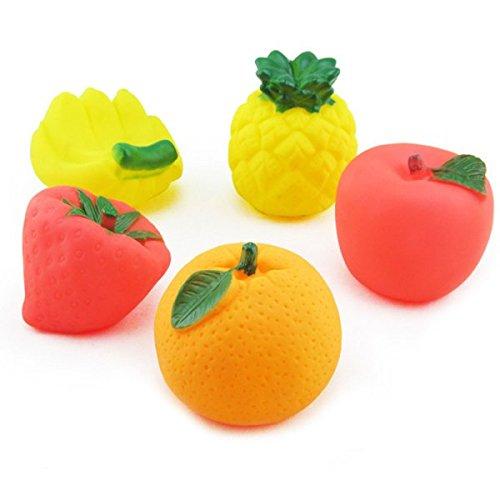 iVee international™ Set of 6 Squeezy Fruit Set for kids