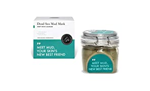 Dead Sea Mud Mask 200g Large Jar - Hydrating Clay Facial Body Mask Anti Ageing Pimple Blackhead & Acne Scar Treatment Exfoliating Spa for All Skin Types