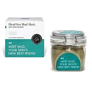 Máscara de barro del mar muerto Grace & Stella – Vegana – Mascarilla purificadora de arcilla para tratamiento de acné de…