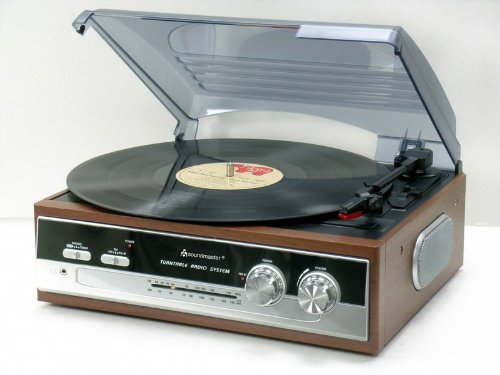 Soundmaster-PL186H-Reproductor-de-vinilos-AMFM-estreo-334578-rpm-color-marrn