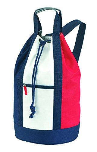 Vertrieb durch Preiswert & Gut Matchsack Seesack Mehrfarbig ca 50 cm mit verstellbarer Schultergurt