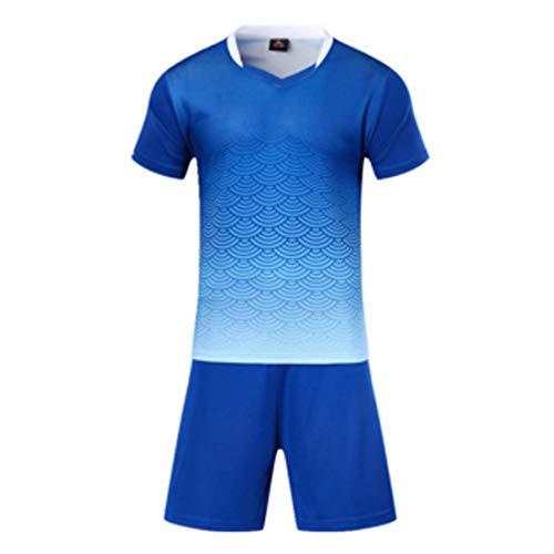 Frauen-fußball-trikot (Inlefen Athletischer Fußball Männer und Frauen Fußball Ausbildung Sport Anzug Trikot und Shorts)