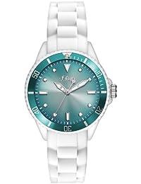 s.Oliver Damen-Armbanduhr XS Analog Quarz Silikon SO-2707-PQ