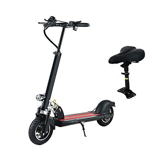 XZZTX Elektro-Scooter für Erwachsene, Faltbarer Mini-Scooter mit verstellbarem Sitz, 10 kg, 100 kg Traglast, 35 km Ausdauer für Reisen und Freizeit (Motorroller Sitz)