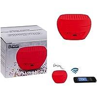 Petite musique de haut-parleur bluetooth avec microphone (Mini Box, portée 10m, kit mains libres pour le téléphone portable, compatible pour tous les smartphones)