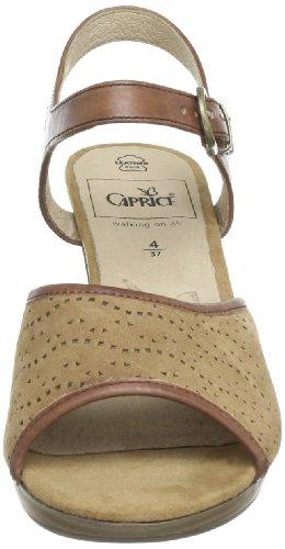 Caprice Da.-Sandalette 9-9-28312-20 Damen Sandalen Beige (NATURE/CAMEL)