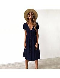 e87813395 Amazon.es  Longwu - Vestidos   Mujer  Ropa