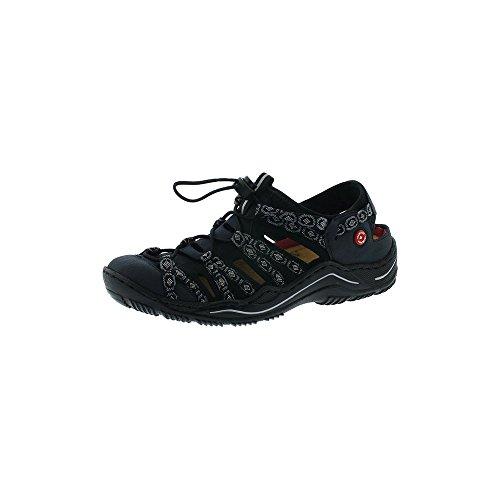 Rieker Damen Sandalen Blau, Schuhgröße:EUR 39
