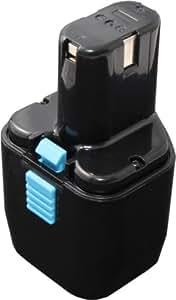 Mitsuru® 2000mAh Ni-MH 12V Batterie pour Hitachi FDS Series FDS12DVA , remplace Hitachi EB1224 EB1230H EB12B EB12H EB230H EB1220 EB12S