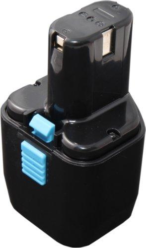 Mitsuru® 2000 mAh Ni-MH 12V Akku Batterie für Hitachi EB-12S EB-224 EB-1220 EB-1220HS EB-1224 EB-1230 EB-1230H FEB-12 FEB-12S HH1204 für HITACHI DS10DTA DS10DVA DS13DV2 DS13DV2/H CL10 CL10D2 CL10D2L