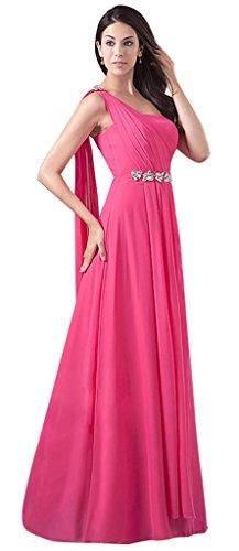 Drasawee - Robe - Asymétrique - Femme Beige - Beige - Rosy Red