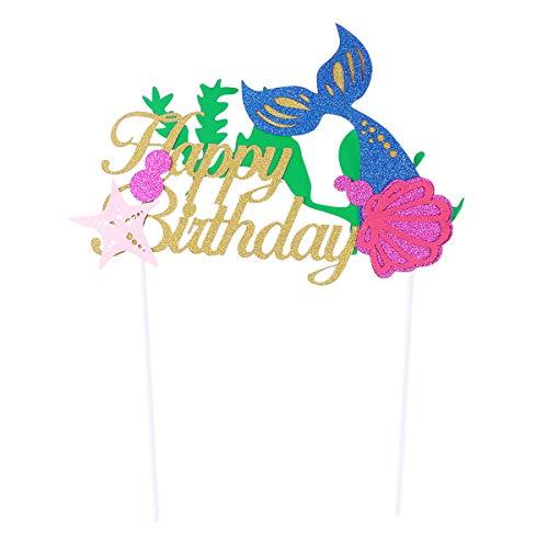 rwelt Thema Cupcake Toppers Birthday Party Kuchen Picks Essen Dekoration Lieferungen für Hawaii Luau Party Dekoration ()