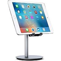 AUKEY Soporte Tablet Aluminio Ajustable Soporte iPad Soporte Móvil para iPad Air / Mini, iPhone Xs / Xr / 8, Samsung, Kindle, Huawei, Nintendo Switch hasta 10 pulgadas