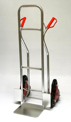 Sackkarre ALU für Treppen 200 kg, 111x55x55 cm (Treppen-Sackkarre Transportkarre Stapelkarre Handkarre)