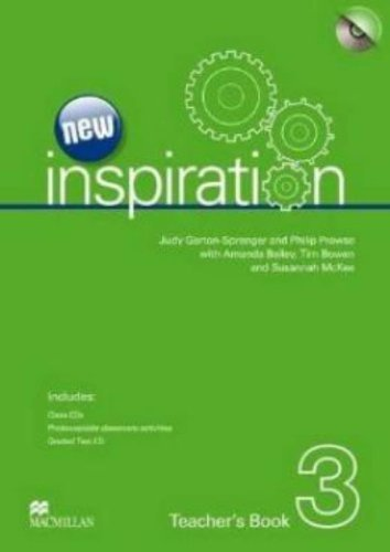 New Inspiration Level 3: Teacher's Book, Test CD and Audio CD Pack by Judy Garton-Sprenger (2012-02-08)