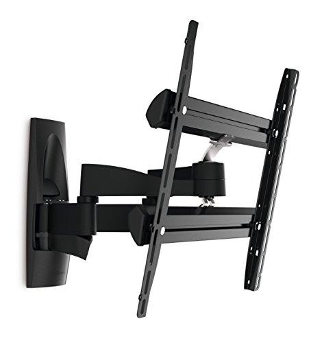 Vogel's WALL 3250 Ultrastark & Vorwärtsbewegbare TV-Wandhalterung für 81-140 cm (32-55 Zoll) Fernseher, schwenkbar und neigbar, max. 35 kg, Vesa max. 400 x 400 mm, schwarz -