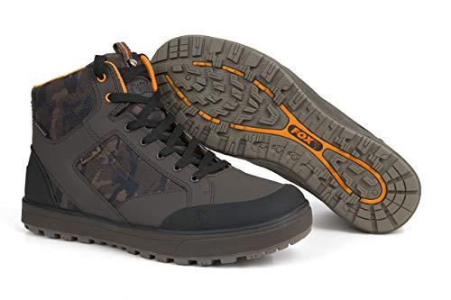 Fox Chunk Camo Mid Boot Stiefel Angelstiefel, Schuhe Angelschuhe, Schuhe zum Angeln, Anglerschuhe, Schuhgröße:Gr. 42/8