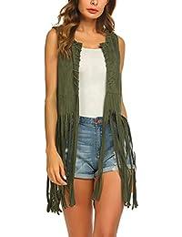 outlet store sale 081f5 35dd6 Suchergebnis auf Amazon.de für: fransen weste - Damen ...