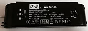 HLV7045L1 waibverlon hBL transformateur led 18–52 vv w 700 mA 12–30 w