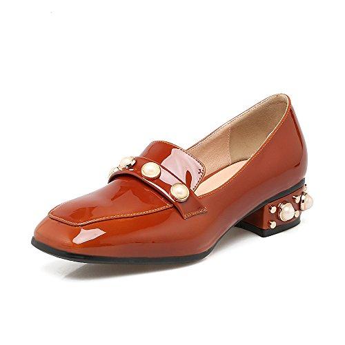 LSM-Talons MEI&S Femmes Place Occasionnels Chaussures Bouche Peu Profonde Plat à tête