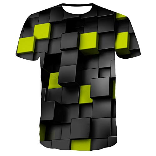 Red Square 3DT Shirt Herren Sommer Lässig Atmungsaktiv Kurzarm TX-8541 6XL -