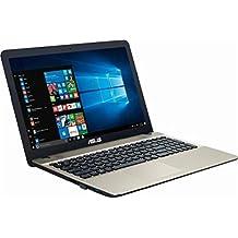 """Asus VivoBook Max Flagship 15.6"""" HD Display Laptop, Intel Pentium N4200 Quad Core, 4GB Ram, 256GB SSD, DVD RW, WiFi, HDMI, VGA, Windows 10"""