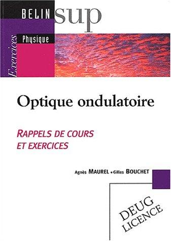 Optique ondulatoire : Exercices