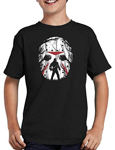 (Jason Friday Night T-Shirt Kinder 152/164 Schwarz)