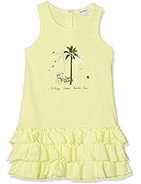 3 Pommes French Riviera 2, Vestido para Niños, Jaune (Jaune (Soleil)), 2-3 Años