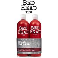 Tigi Bett Kopf Resurrection Tween Duo Shampoo & Conditioner für sehr trocken, Haar-750 ml (2 Stück) inkl ** Kostenlose TIGI PUMPEN **