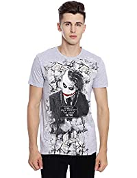 Joker Men's Printed Regular Fit T-Shirt