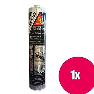 Sikaflex 521 UV schwarz 300ml