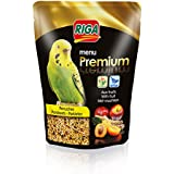 Riga (petfood Menu Premium Perruches Vitamines et Fruits Doypack de 800 g - Lot de 3