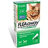 RSPCA FleaAway Spot On Solution for Cats, Single Pack, 50 mg